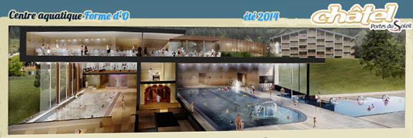 Le nouveau centre aquatique sera ouvert à partir du 15 juillet 2014.