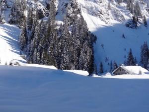 Randonnée à ski Chalets Folliet