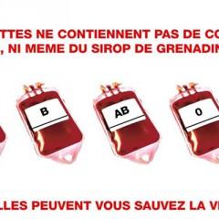 Tous à la collecte de sang à Châtel