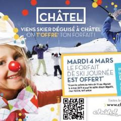 A CHATEL LE MARDI 4 MARS 2014 CARNAVAL DJ LIVE