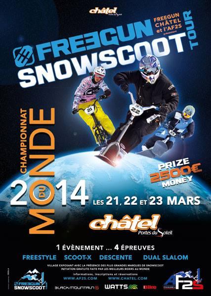 Snowscoot course