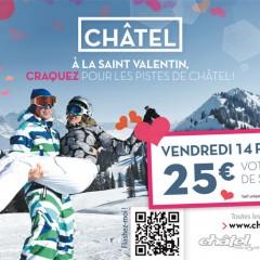 Forfait de ski à 25 € : le 14 jour de la St Valentin