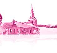 Le cloître de l'abbaye d'Abondance