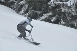 Championnats du monde de snowscoot à Châtel © BG - valdabondance.com