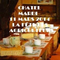 A Châtel ce soir dès 19h30 Fête des agriculteurs