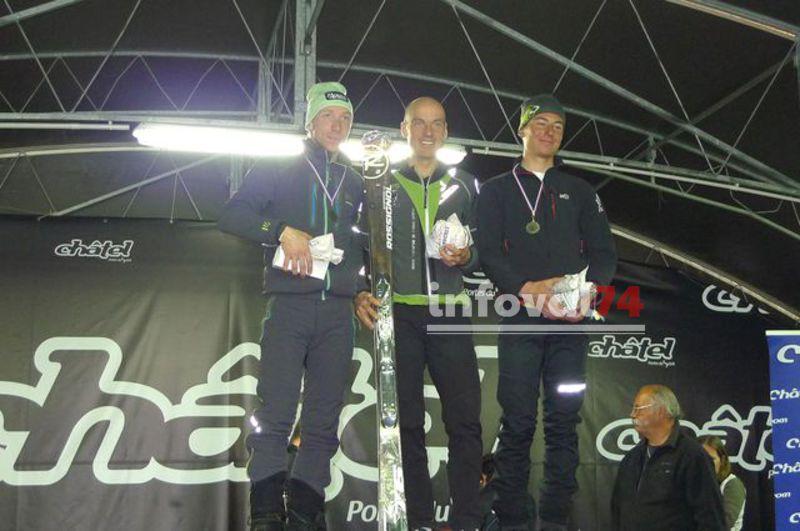 FlorentPerrier (35'35''), DidierBlanc (35'44''),3ème  YohannBenand(39'11'')