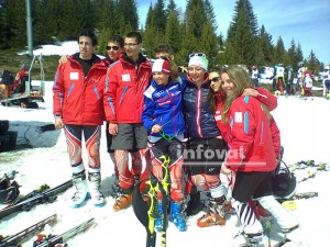 Ski d'or aux Saisies