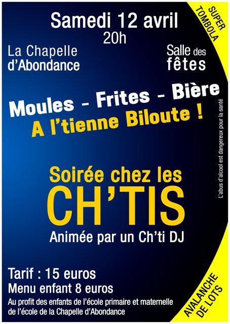 Soirée CH'TIS