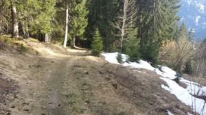 Trail Chemin des dames - La Chapelle d'Abondance © B. Guffroy - valdabondance.com
