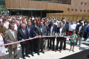 Inauguration centre aquatique de Châtel