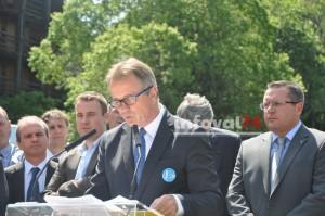 M. Gilles Sergent, président de RECREA