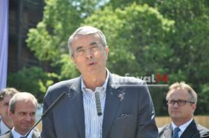 M Jack Queyranne, président de la région Rhône-Alpes