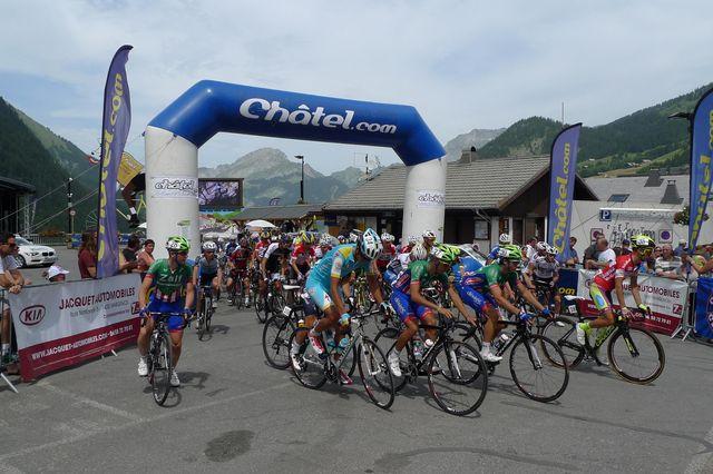 Depart Tour val d'Aoste