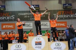 Stihl Timbersports French Championship 2014