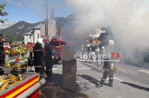 Pompiers Châtel