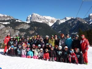 Ski club La chapelle saison 2013-2014