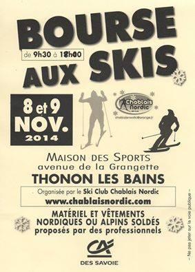 bourse skis2014