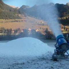 Du froid pour les snowmakers!