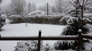 La Chapelle neige
