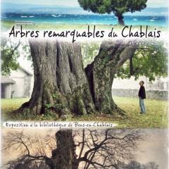 Exposition sur les arbres remarquables du Chablais