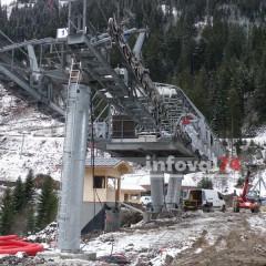Quelques photos de la construction des deux télésièges