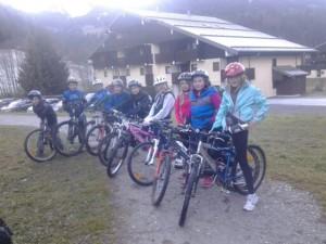Sortie VTT ski Club