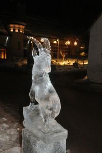 Sculpture sur glace © B. Guffroy infoval74.com   valdabondance.com