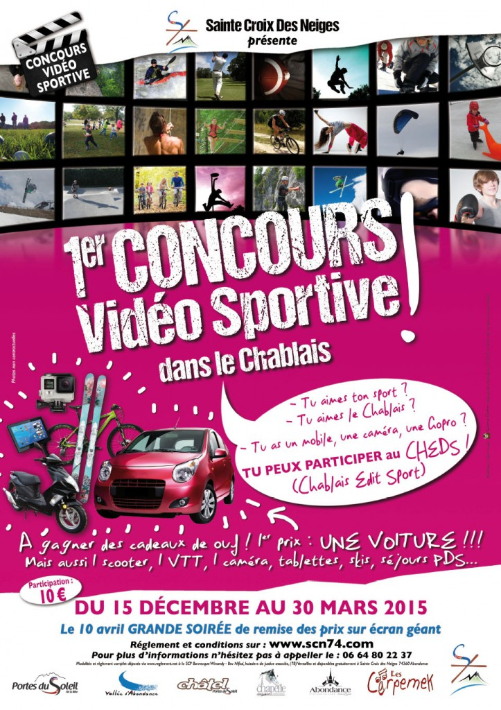 concours video sportive
