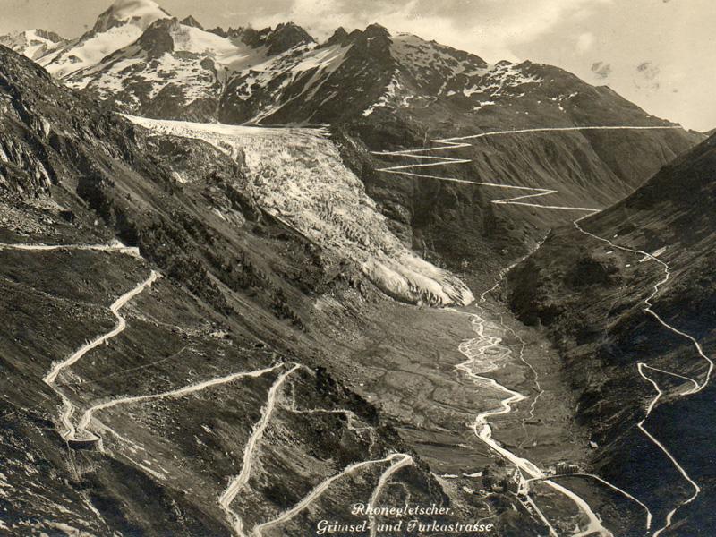 Carte postale postée de Luzerne vers la France en 1933. @ chablais.fr