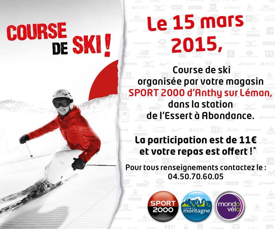 course ski