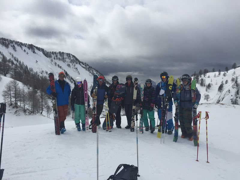 Groupe ski-escalade 2015