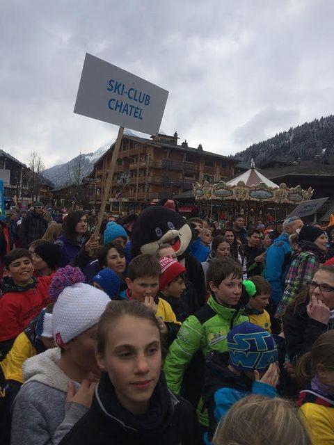 Ski clubChatel 04043