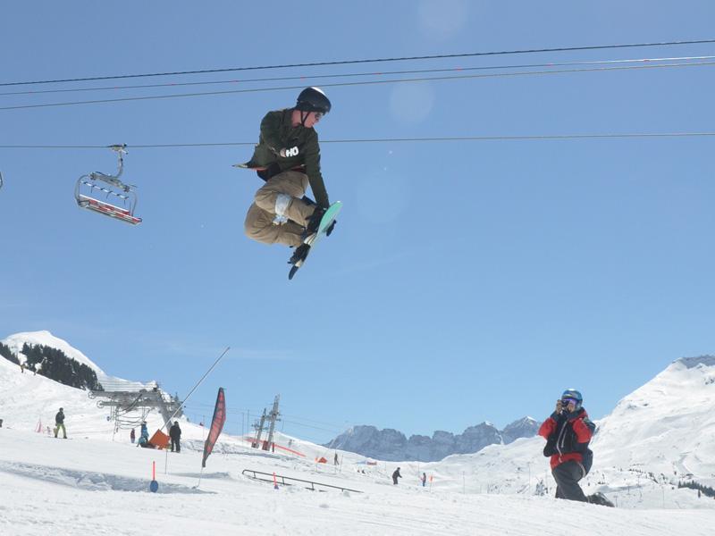 Snow Park la chapelle - Avoriaz © FM Guffroy infoval74.com   valdabondance.com