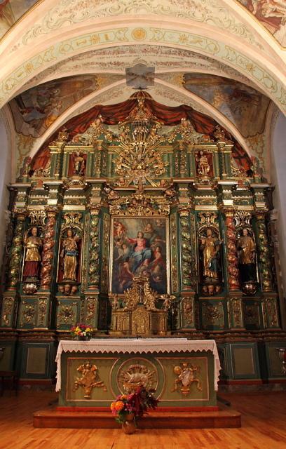 08-11-18-02 Eglise baroque  de cordon - Haute-Savoie