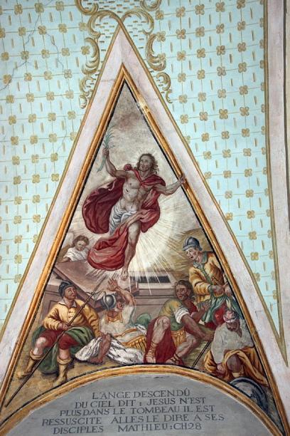 Eglise baroque  de Cordon © Alain Bouvet passionphoto74.com