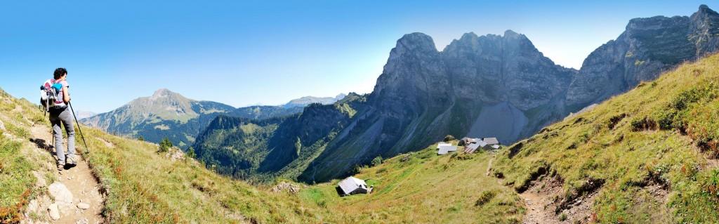 Panoramique depuis Ardens © Patrick Brault - Abondance