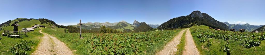 Panoramique depuis Autigny © Patrick Brault - Abondance