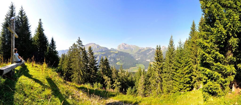 Panoramique depuis Crêt-Béni © Patrick Brault - Abondance