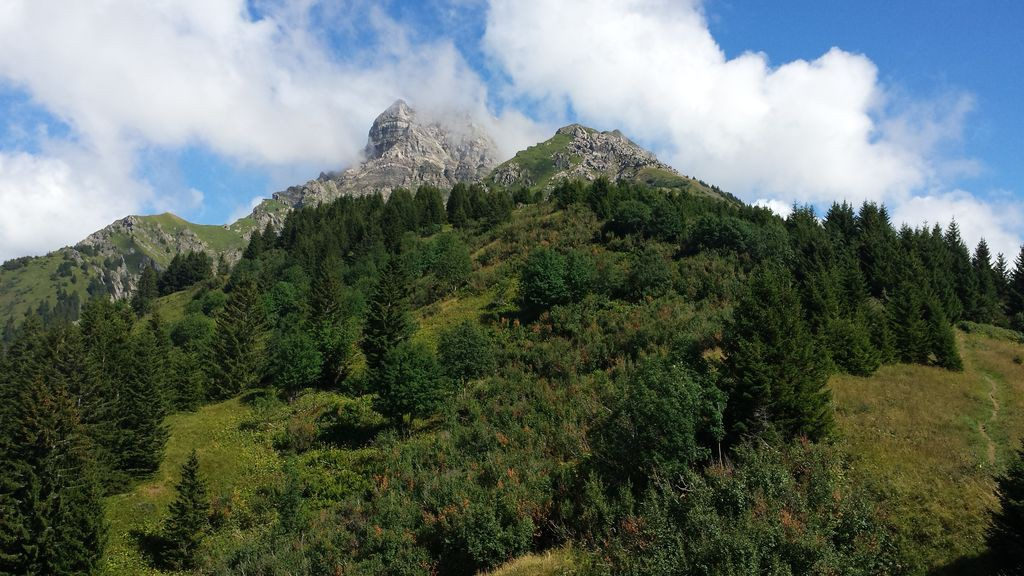 Vue depuis Leschaux © B. Guffroy | infoval74.com | valdabondance.com