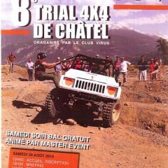 Trial 4×4 dès 12 h à Châtel
