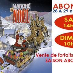 Dès Samedi 14 H marché de Noël à Abondance