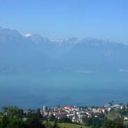 Villes autour du Léman : Montreux