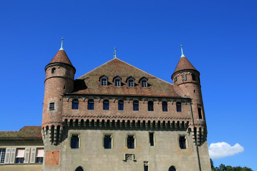 Lausanne Château ST Maire © Alain Bouvet - passionphoto74.com