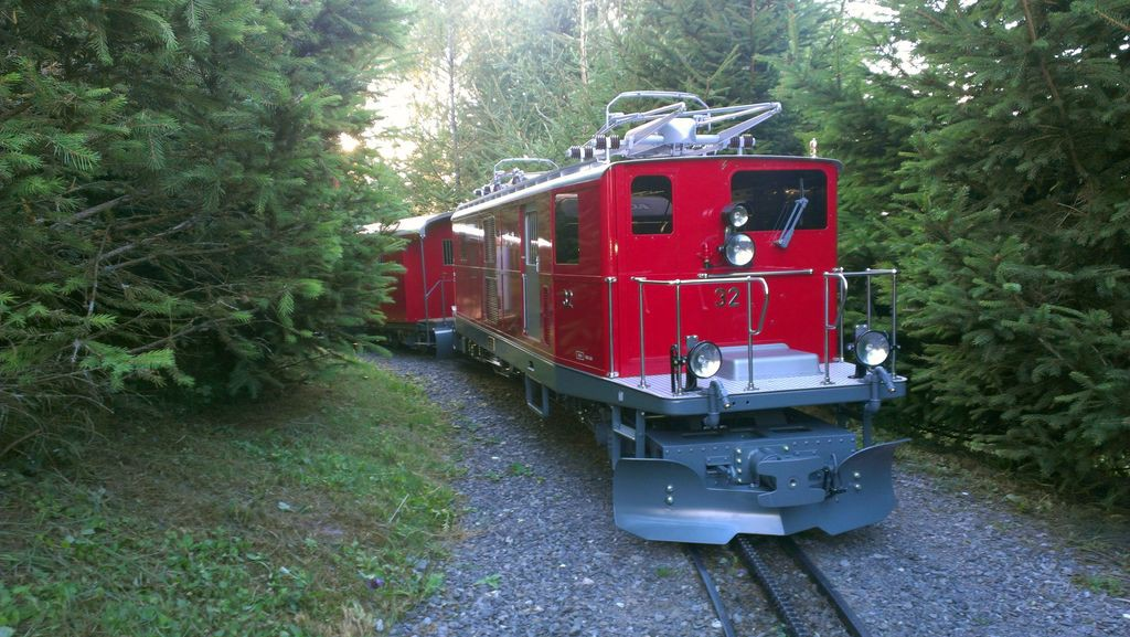 Train © Swiss Vapeur Parc