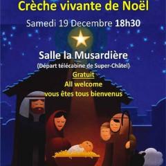 Crèche vivante à Châtel le 19.12 à 18h30