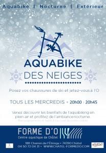 Aquabike des neiges