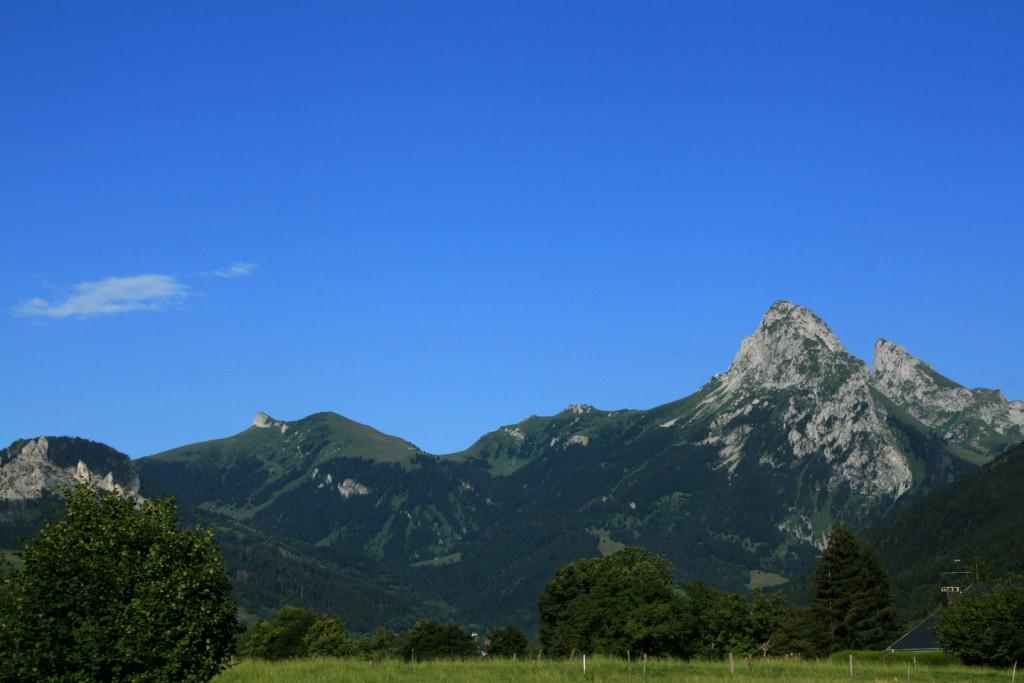 Une partie du massif du Chablais © Alain Bouvet