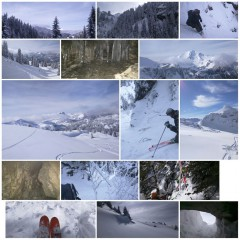 Belle journée de ski
