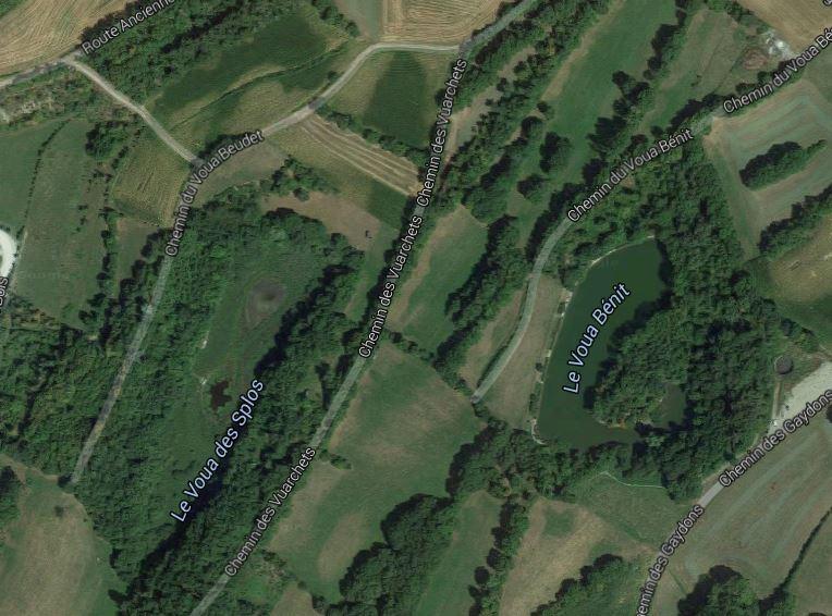 Voua commune du Lyaud© googlemaps