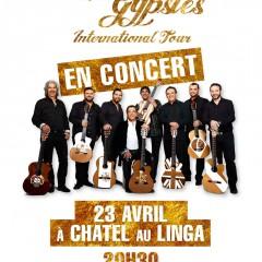Chico & The Gypsies en concert à Châtel